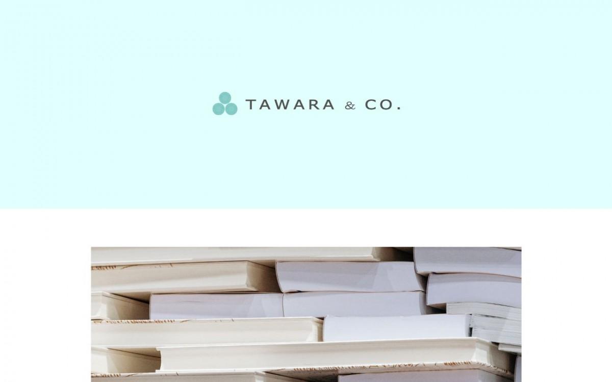 TAWARA&CO.の制作情報 | 福岡県のホームページ制作会社 | Web幹事