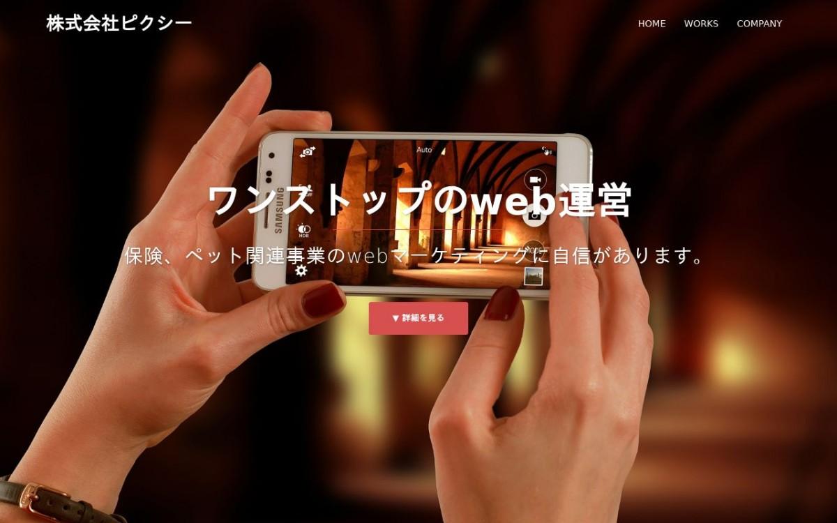 株式会社ピクシーの制作実績と評判 | 東京都渋谷区のホームページ制作会社 | Web幹事