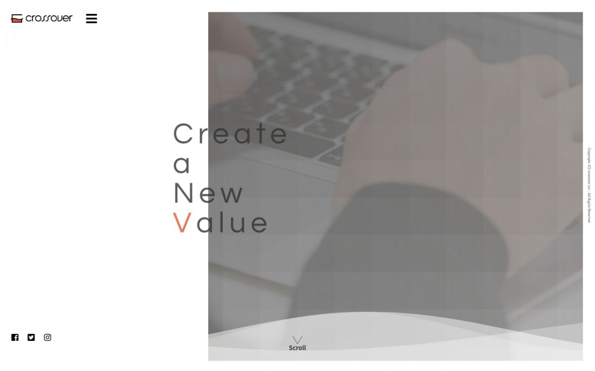 株式会社クロスオーバーの制作情報 | 東京都品川区のホームページ制作会社 | Web幹事