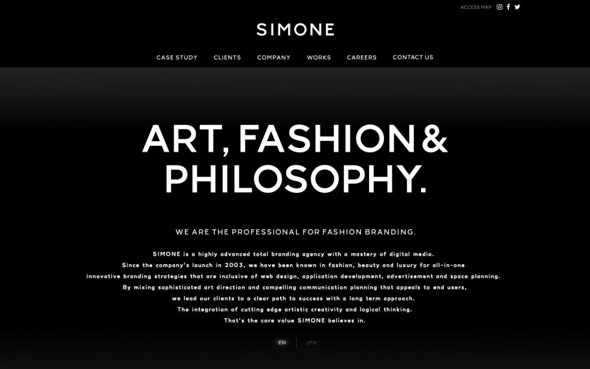 SIMONEの制作実績と評判   東京都渋谷区のホームページ制作会社   Web幹事