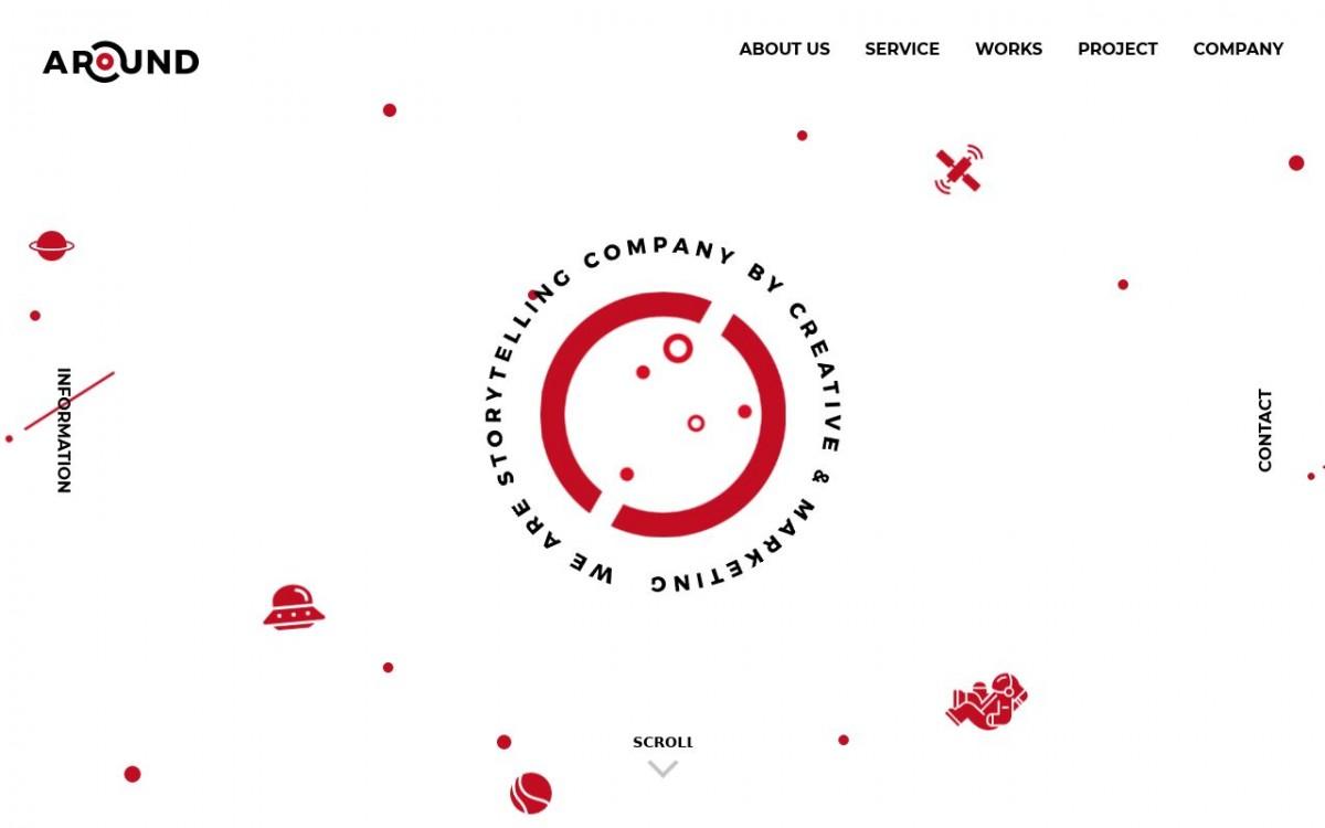 株式会社AROUNDの制作情報 | 東京都渋谷区のホームページ制作会社 | Web幹事