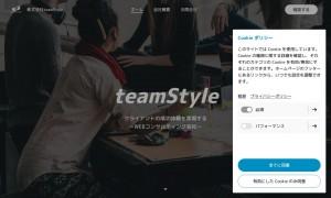 株式会社teamStyle