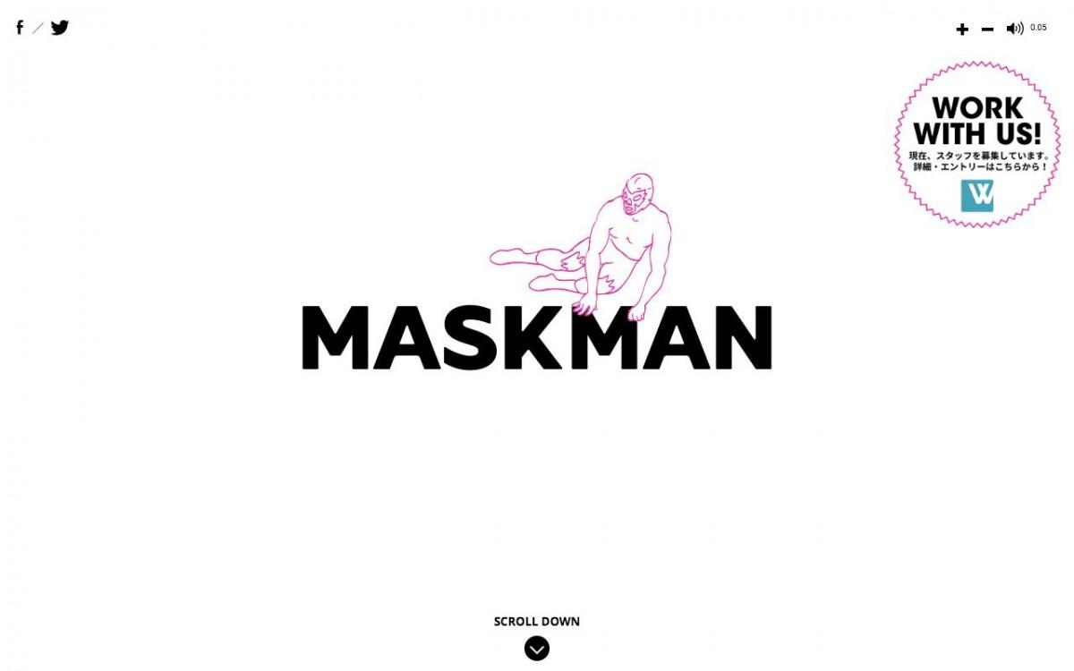 株式会社マスクマンの制作情報 | 東京都港区のホームページ制作会社 | Web幹事