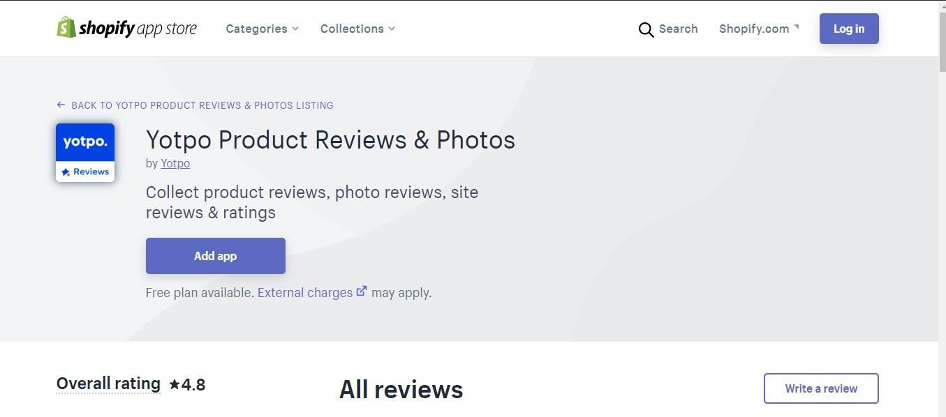 Yotpo: Product & Photo Reviews