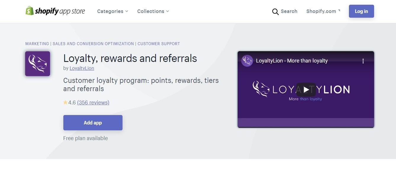 Loyalty & rewards program