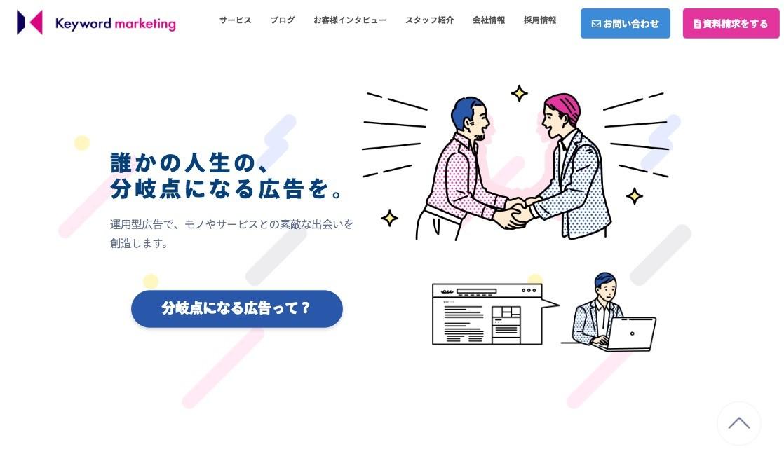 株式会社キーワードマーケティング_東京都のおすすめリスティング広告会社