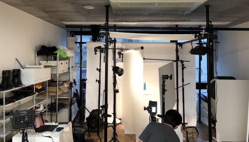 オリクション株式会社の社内スタジオ