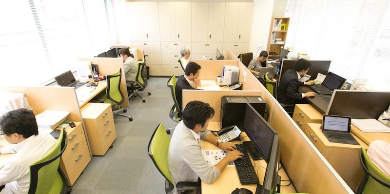 プラスデザインカンパニー株式会社のオフィス風景