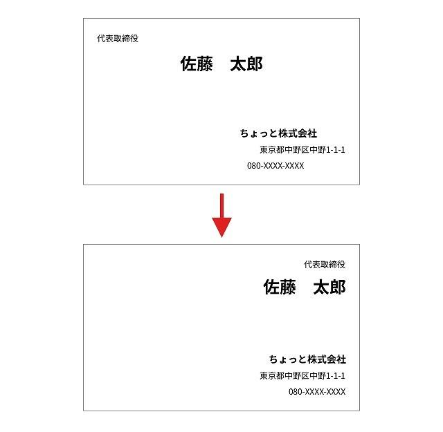 バラバラの要素→整列