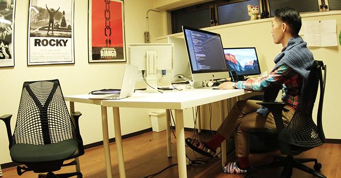 株式会社ダブルアールジーのオフィス風景
