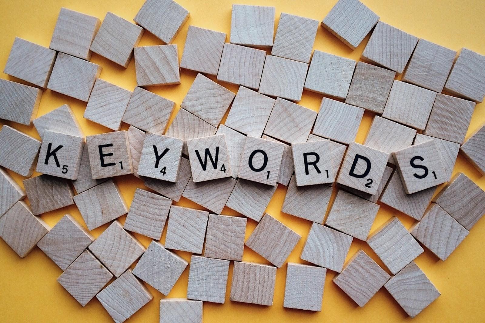 記事作成時のキーワード選定