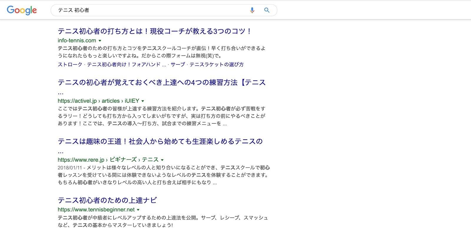 検索上位に表示する競合サイトの研究